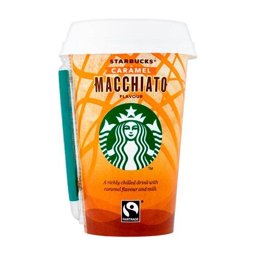 2 Starbucks Caramel Macchiato Discoveries 220Ml