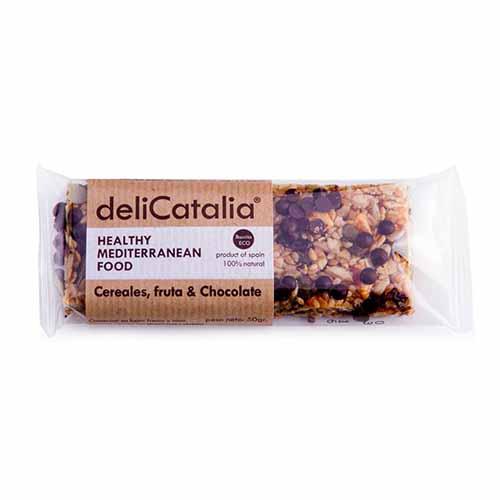 Barrita Eco Cereal/Fruta&Cho Delicatal50