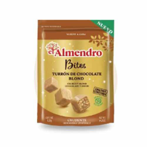 Bites Turron El Almendro Choco Blond 120