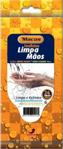 TOALHITAS LIMPA MAOS MACOS