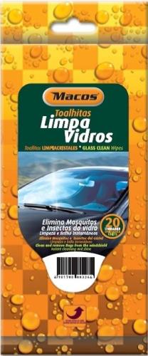 TOALHITAS LIMPA VIDROS MACOS