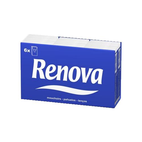 LENCOS BOLSO RENOVA PACK6